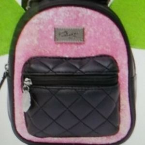 Luv Betsey Pink  Winged Mini Backpack NWT